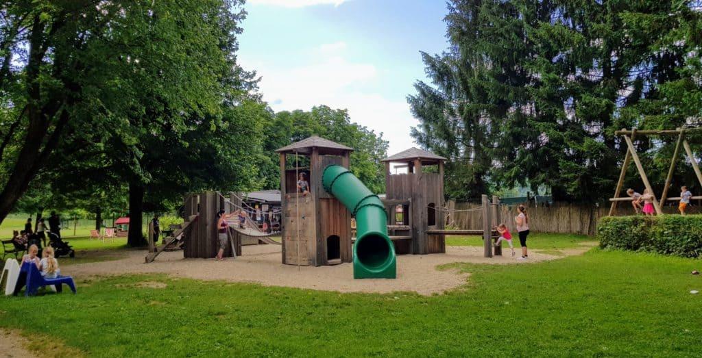 Kinderspielplatz im Kärntner Wildtierpark
