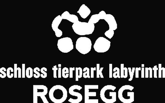 Ausflugsziele Tierpark Schloss Labyrinth Rosegg Kärnten - Wörthersee, Logo