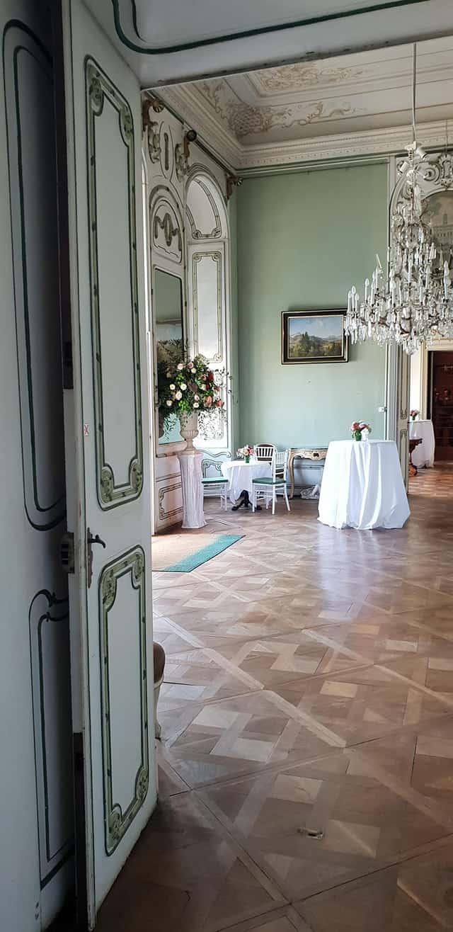 Schloss Innen für Hochzeiten und Veranstaltungen