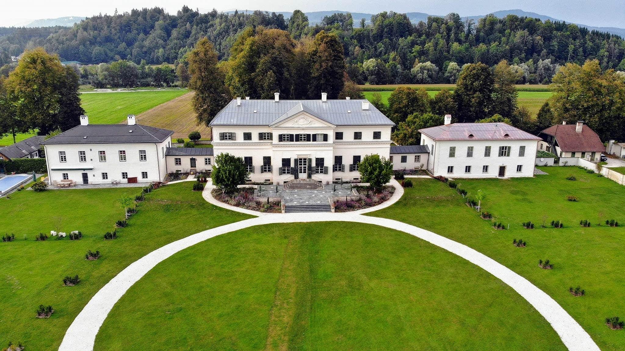 Schloss Rosegg Sehenswürdigkeit in Kärnten Österreich