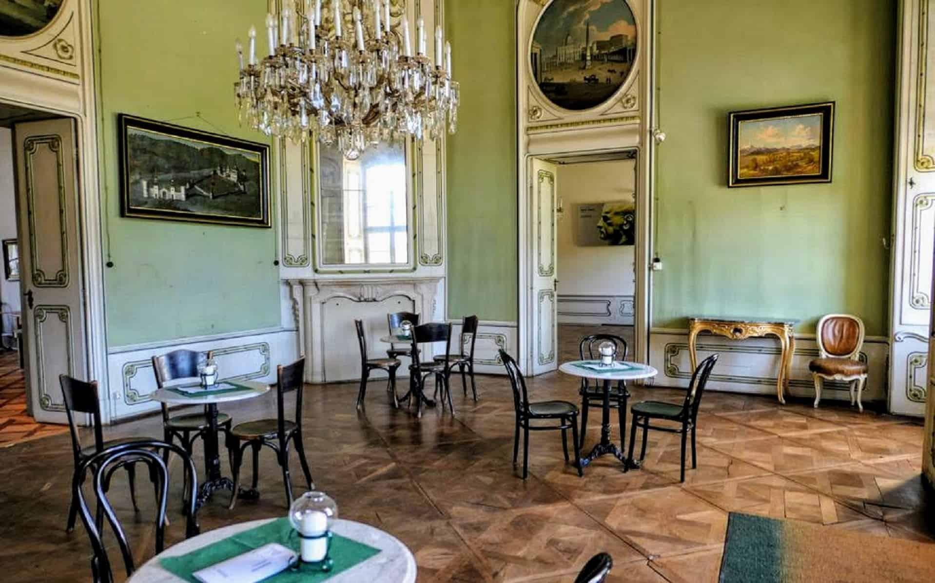 Schlosscafè Nähe Velden am Wörthersee - Innenansicht