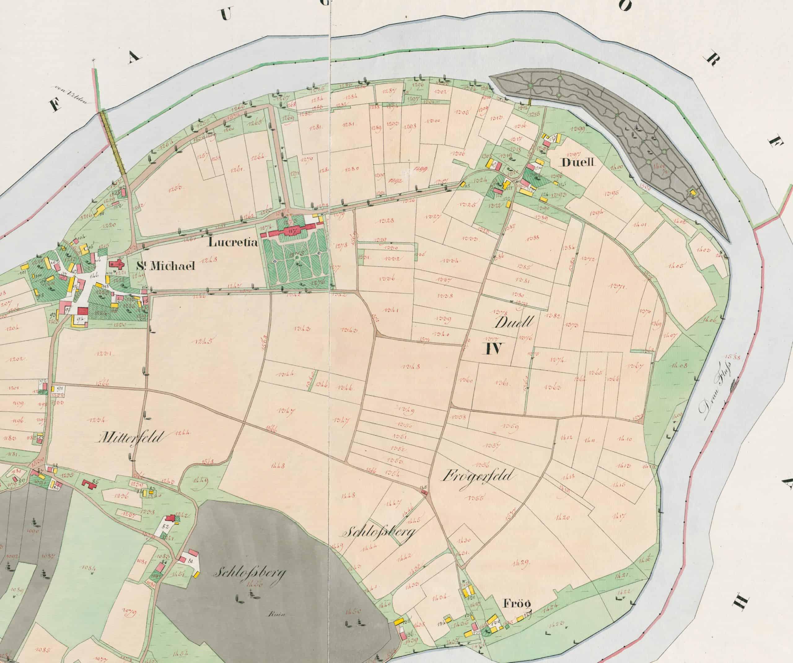 Landkarte Rosegg